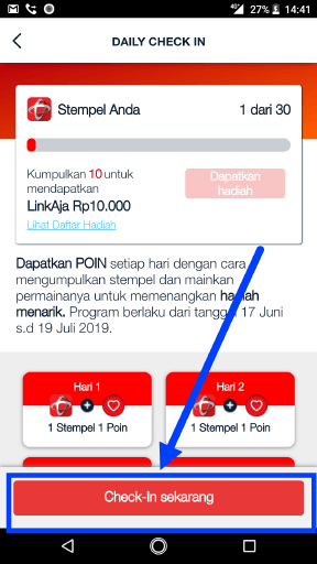 cara check in poin telkomsel di mytelkomsel