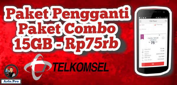 paket 15GB Rp75rb telkomsel hilang ini alternatif paket combo lainnya
