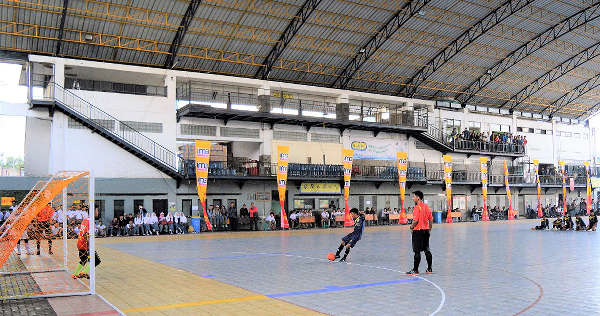 tempat futsal Masoem University