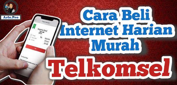 cara beli paket internet harian Telkomsel 10GB cuma Rp36rb