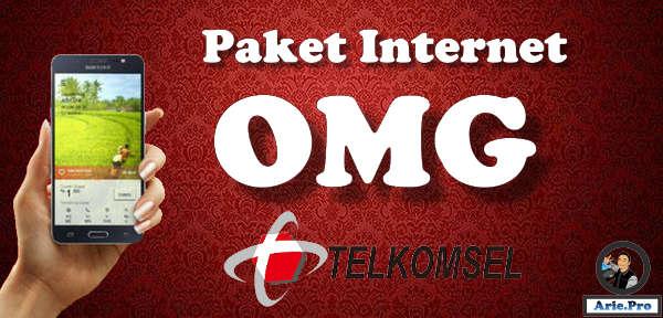 apa itu paket OMG telkomsel dan bagaimana cara menggunakannya