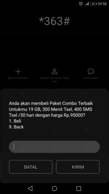 cara mendapatkan paket 19gb telkomsel