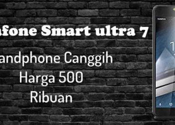 review alcatel Vodafone Smart ultra 7 hp 500rb 4G ram 2GB NFC lampu flash depan