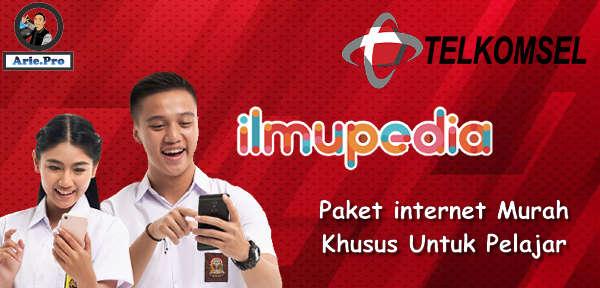 paket internet murah telkomsel 3GB Rp25rb ilmupedia untuk pelajar