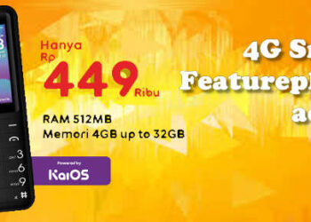 spek Hp Smart Featurephone 4G 400rb dari Advan Indosat IM3 Ooredoo