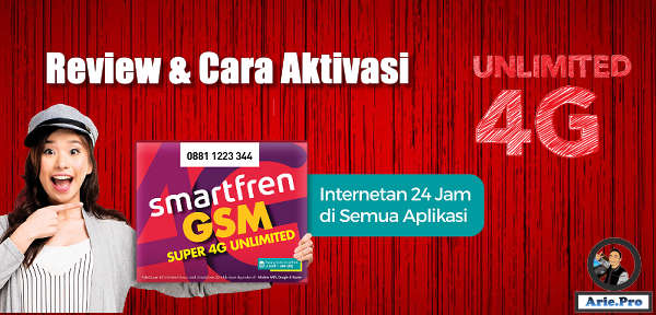 review dan cara aktivasi internet unlimited bulanan smartfren