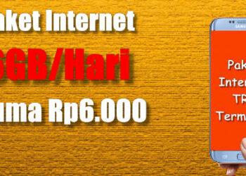 kuota internet tri 6GB cuma 6rb cara daftar dan berlangganan