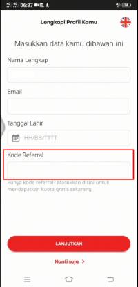 Cara daftar dan menggunakan kode referral myim3 agar dapat kuota internet gratis