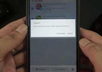 cara menghapus foto lama sekaligus di facebook android