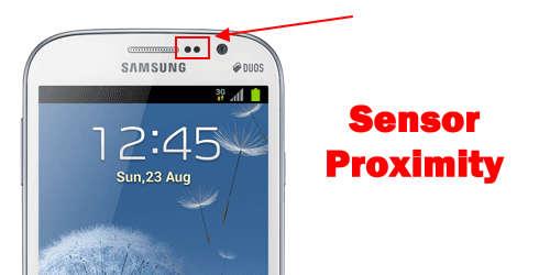 layar mati karena sensor proximity