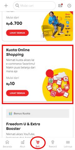 cara daftar paket internet murah im3 kuota 1GB cuma Rp10