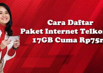 paket combo sakti internet telkomsel 17GB Rp75rb gratis WA FB IG