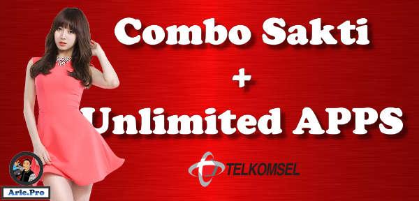 paket combo sakti telkomsel gratis kuota aplikasi unlimited