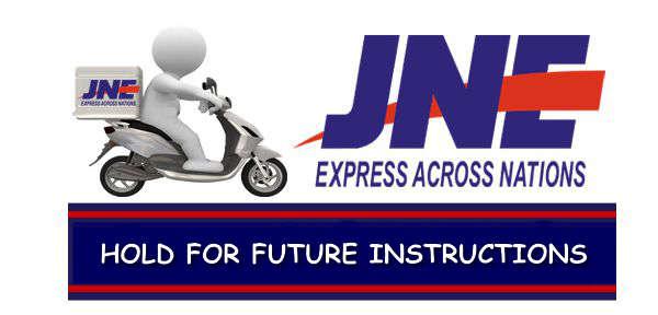 arti maksud dari HOLD FOR FUTURE INSTRUCTIONS di JNE istilah pengiriman