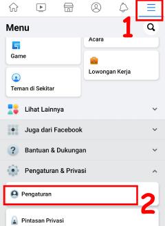 cara agar terlihat offline di aplikasi facebook