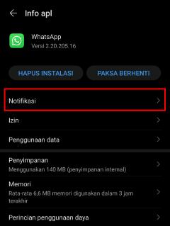 cara menyembunyikan notifikasi whatsapp web