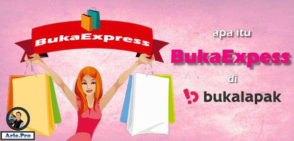 apa itu jasa pengiriman BukaExpress di bukalapak