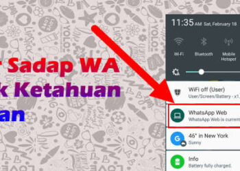 cara sadap whatsapp tanpa pemberitahuan di hp korban menghilangkan notifikasi wa web