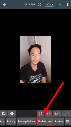 tutorial edit foto untuk pas foto di android
