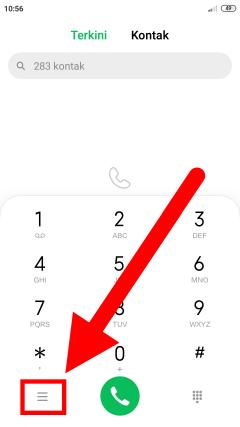 Cara blokir nomor panggilan dan SMS di android miui
