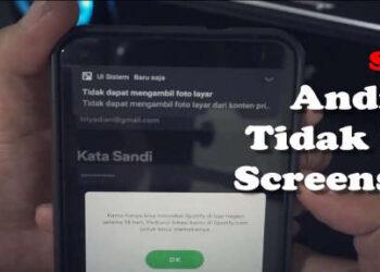 cara mengatasi tidak dapat mengambil foto layar di android screenshot