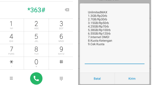 kode dial internet murah telkomsel