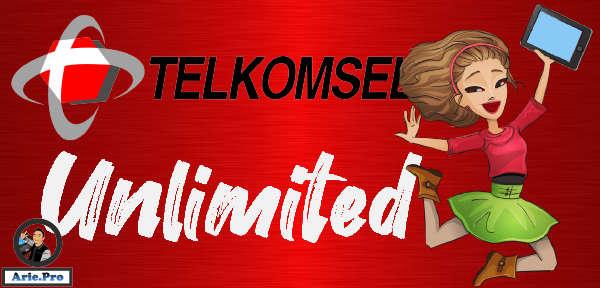 cara daftar paket unlimited telkomsel tanpa FUP