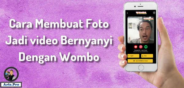 cara menggunakan wombo.ai ubah foto selfie jadi bernyanyi dan bergerak